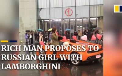 Asian guy ask to marry a Russian girl and gets rejected despite of his money
