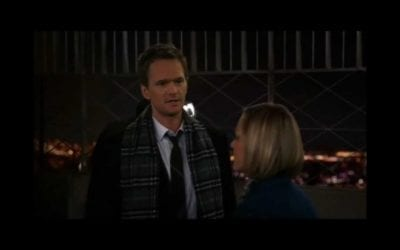 "The ""He is not coming"" seduction tip – Barney Stinson"